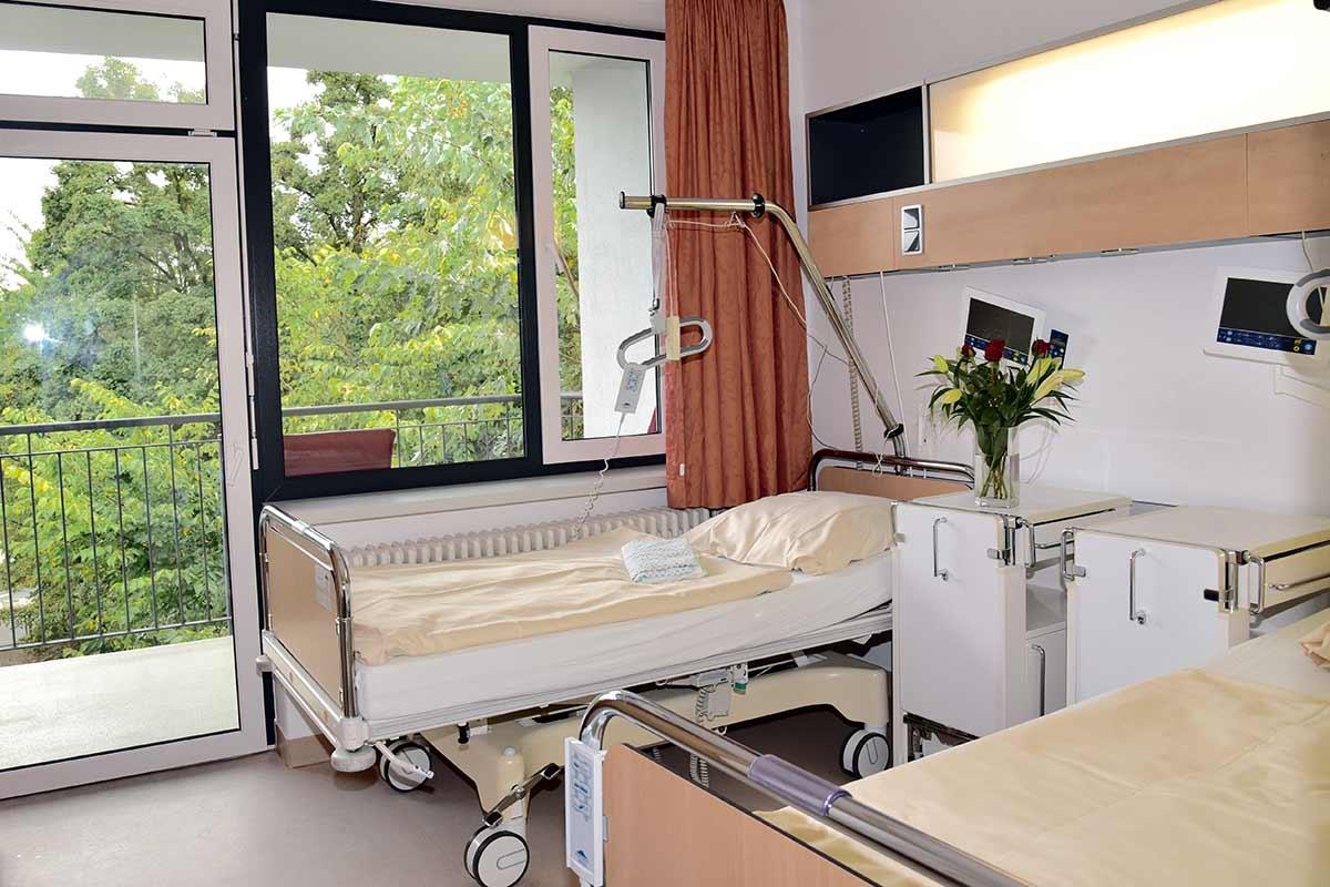 Zweibettzimmer-Innen